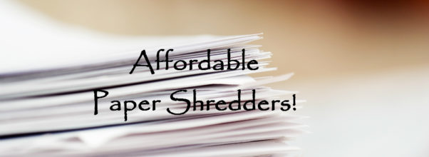 best shredder for small business