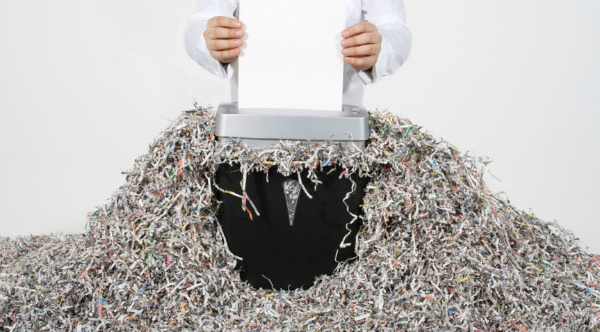 how to maintain a shredder